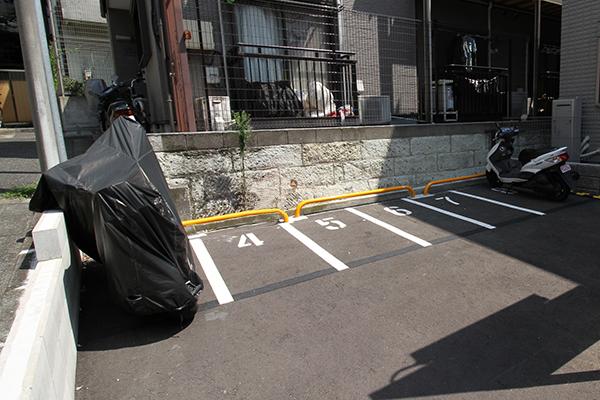 月極駐車場管理業務