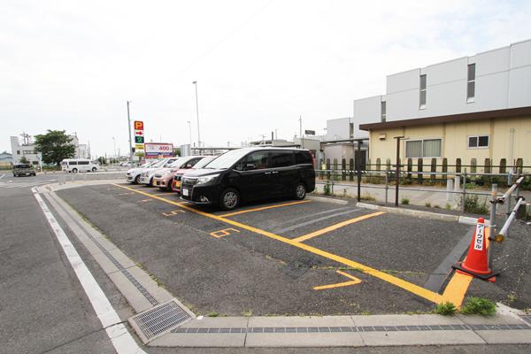 査定ポイント2駐車スペース(車室)と車室数